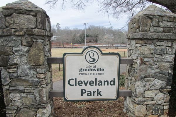 Masonry repairs to Cleveland Park entrances are complete.