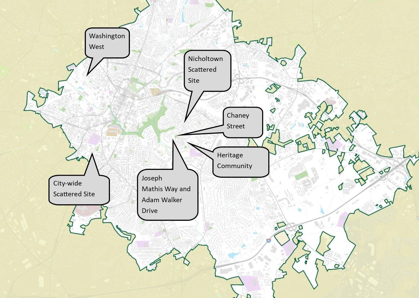 Affordable Housing Opportunities Map